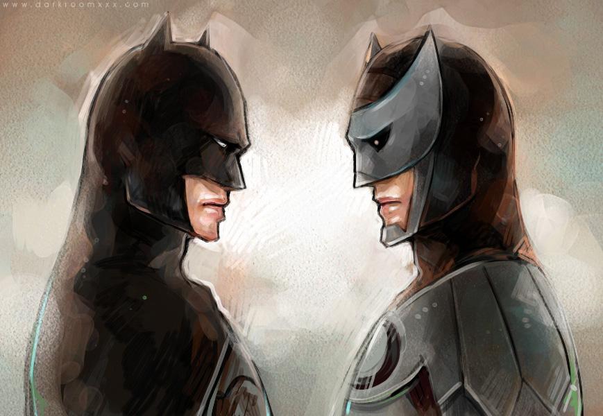 Batman Owlman by Haining-art