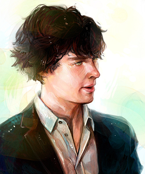 Benedict Cumberbatch by Haining-art