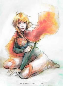 Supergirl by Haining-art