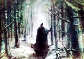 Bruce by Haining-art