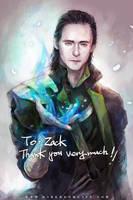 Tom! Loki by Haining-art