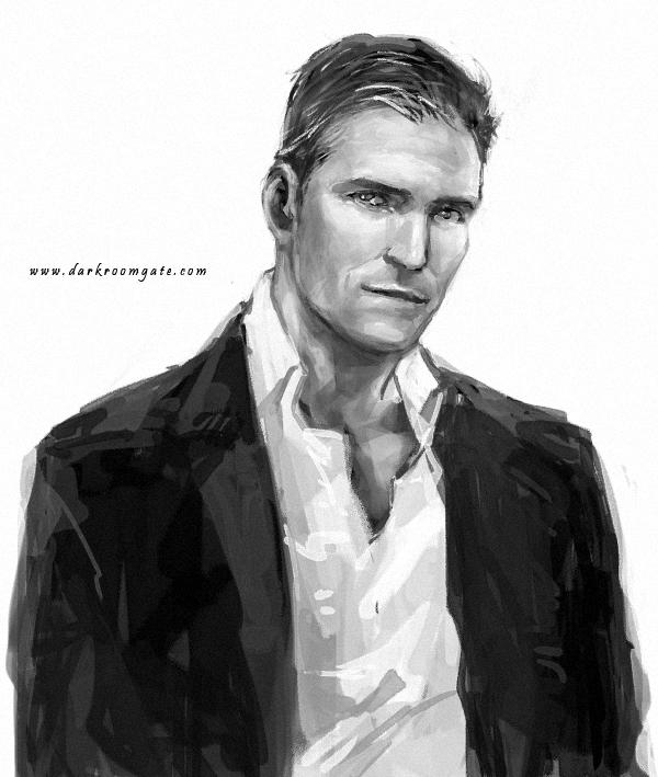 John Reese by Haining-art