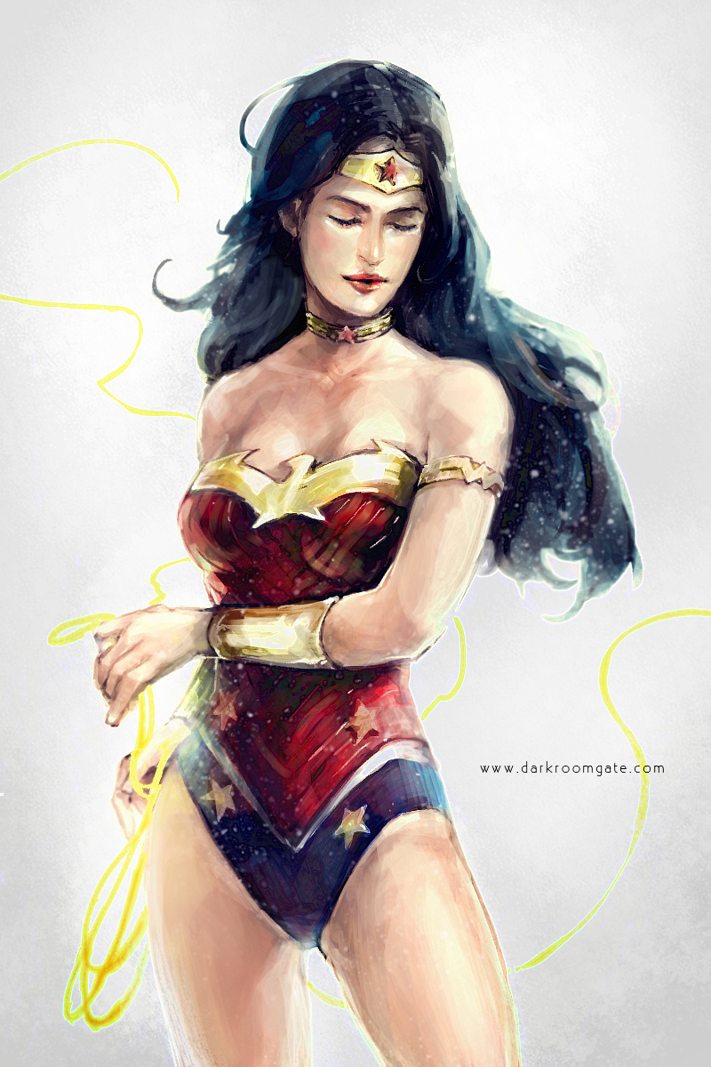 Wonder Woman by Haining-art
