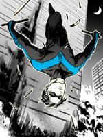 Nightwing by Haining-art