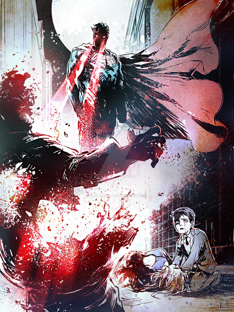 Injustice by Haining-art
