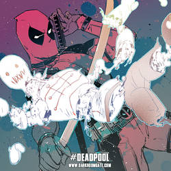 Deadpool by Haining-art