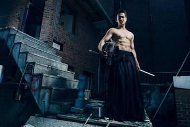July 27, 2013. Urban Warrior by wertysachu