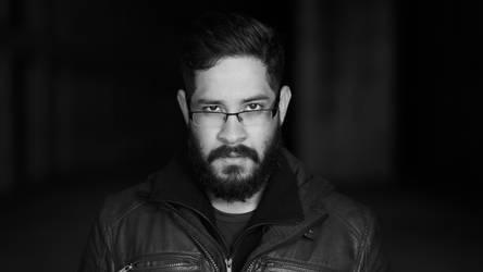 The Man, The Beard by wertysachu