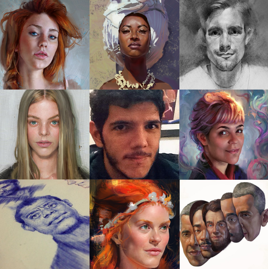 Artvsartist tag by userthiago