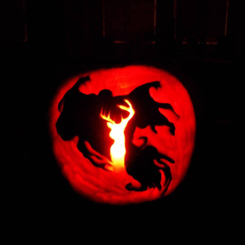 pumpkin carving harry potter by hofice on deviantart pumpkin carving harry potter by