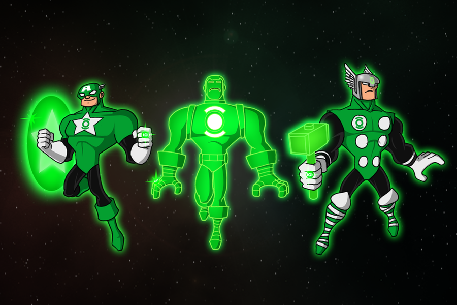 Emerald Avengers by payno0