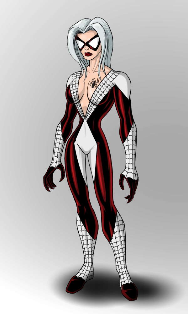 Black Cat/Spiderman Amalgam by payno0