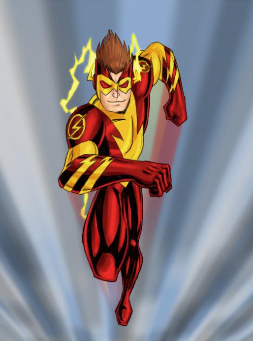 Kid Flash - New 52 by payno0 on DeviantArt