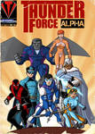 Thunder Force Alpha- Anthology Cover