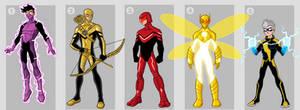 SUPERHERO CHARACTERS FOR SALE