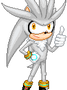 Silver the Hedgehog Animation by MAGICatMIDNIGHT