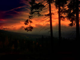 Clouds on Fire Stock by WishmasterKFG