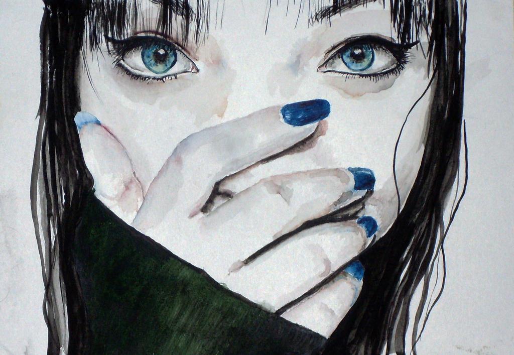 Blue EMO-ka by Howard0