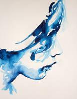 Blue Profile by Howard0