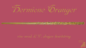 Hermione Granger Wand Wallpaper