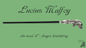 Lucius Malfoy Wand Wallpaper