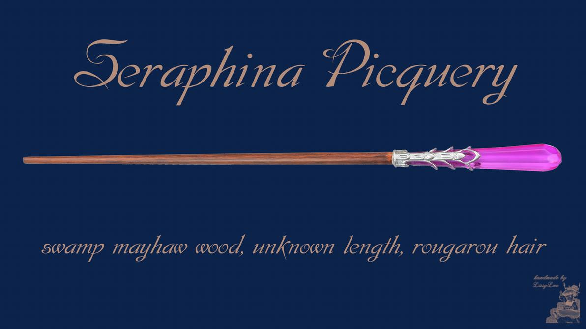 Seraphina Piquery Wand Wallpaper by handmadebylissylou