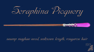 Seraphina Piquery Wand Wallpaper