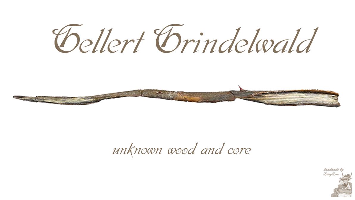 Gellet Grindelwald Wand Wallpaper by handmadebylissylou