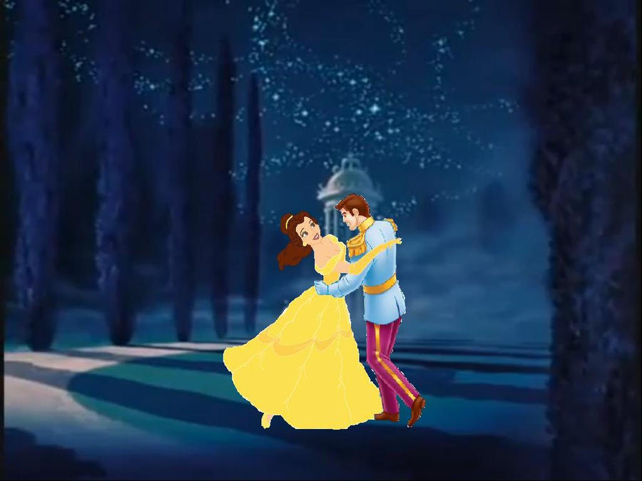 Belle And Cinderellas Prince By Princess Of Disney