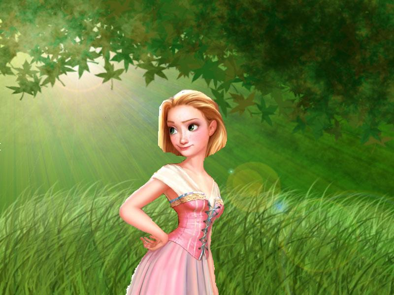Rapunzel with short hair by princess-of-disney on DeviantArt
