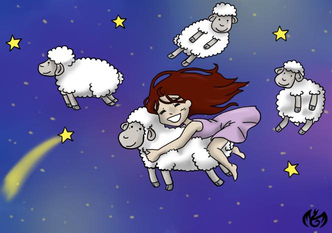 Draw Me A Sheep 2 By Seleyana On Deviantart