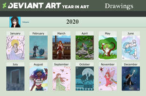 [Meme] 2020 Year In Art - Drawings
