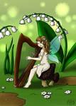 [Gift] Spring Harp Fairy