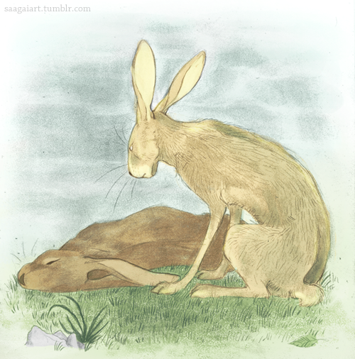 Watership Down by Saagai