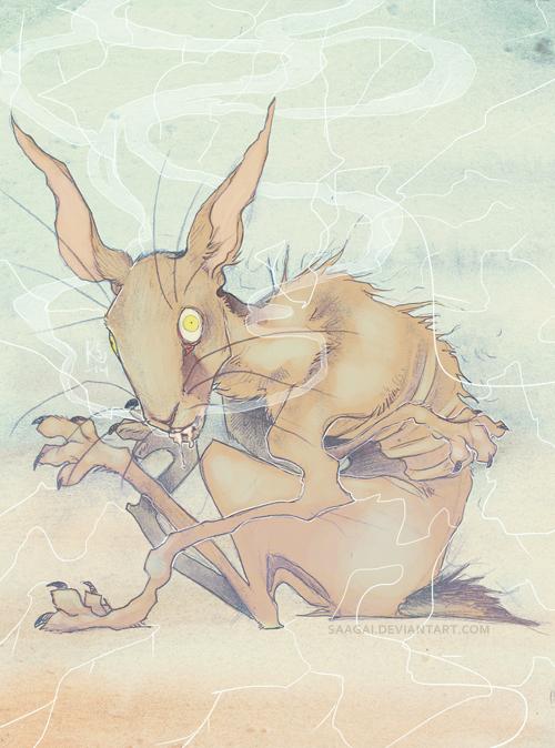 Run Rabbit Run by Saagai