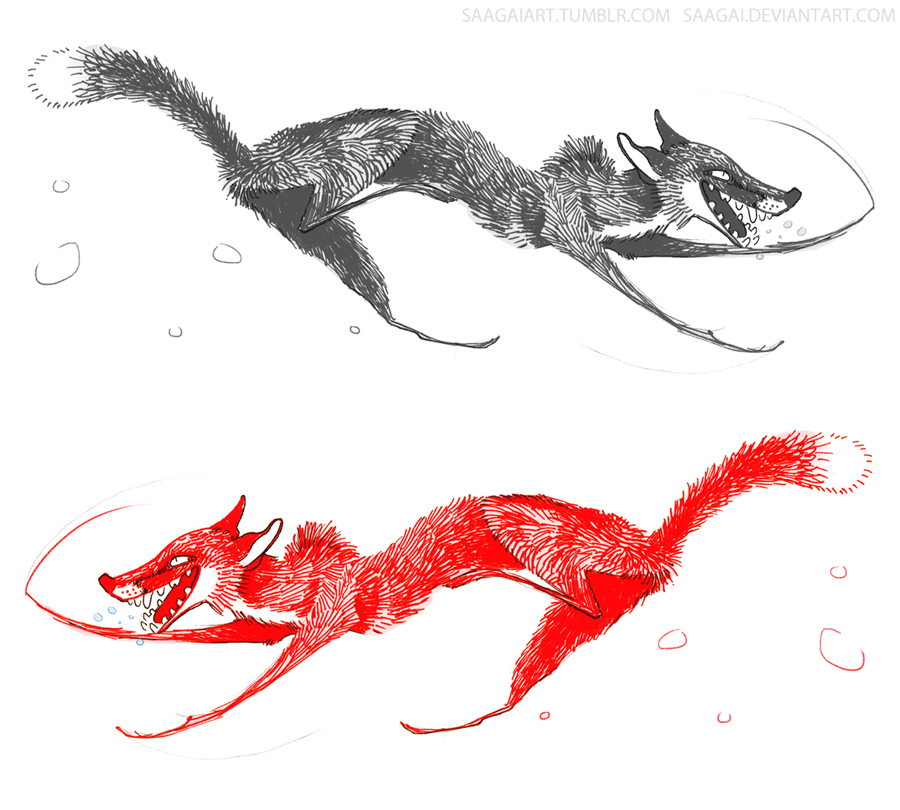 Stabilo Foxes by Saagai