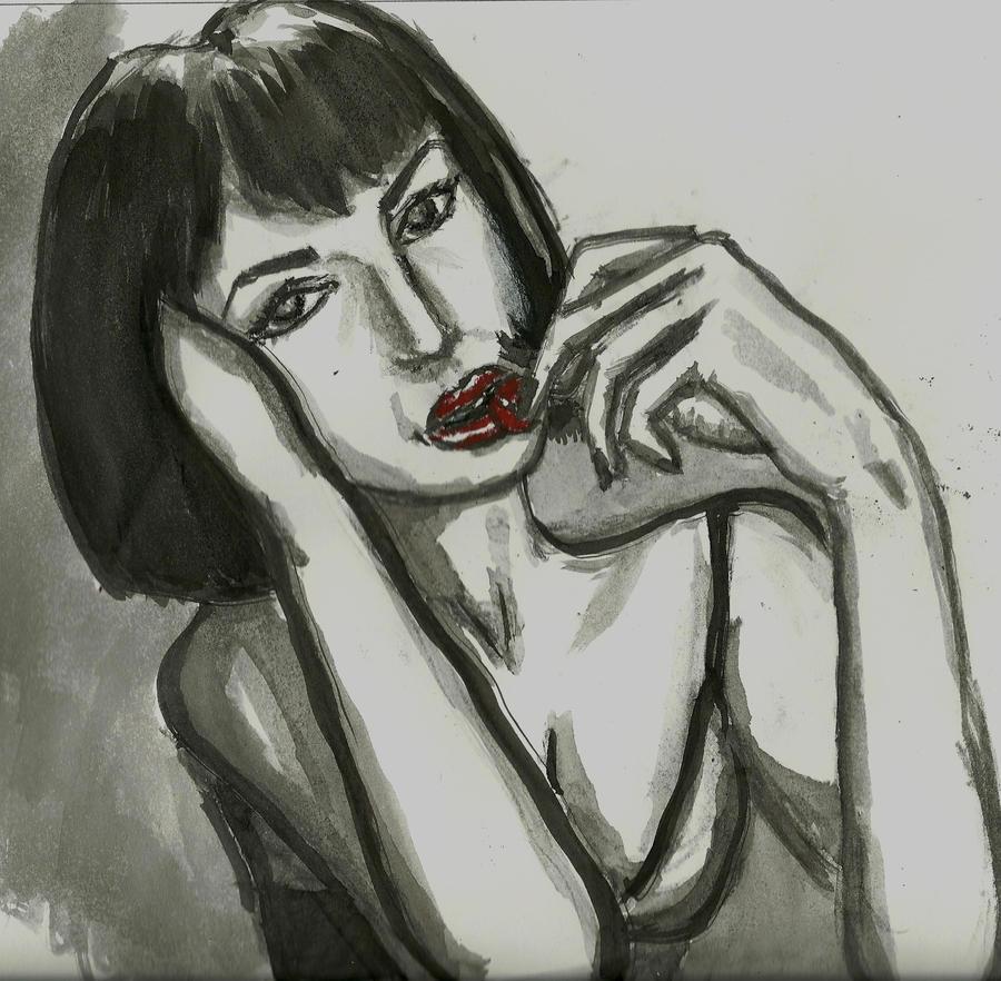 Riavic eats a cherry by Riavic34