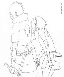 sasusaku161 by pinkyflame