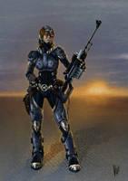 Sci-fi Sniper 2 by VMP82