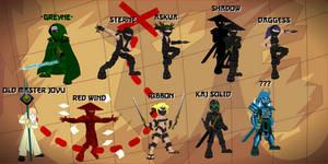 Meet the ninjas