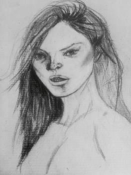 Sketch Kate Moss No.2