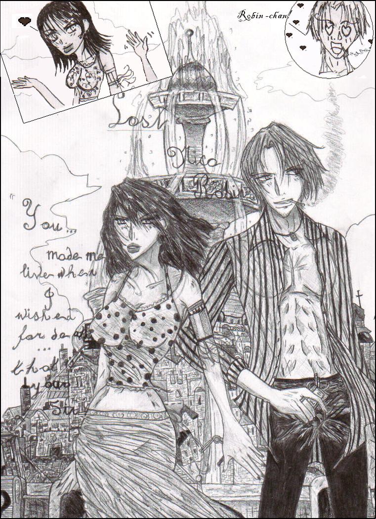 Lost - Nico Robin by michiru1