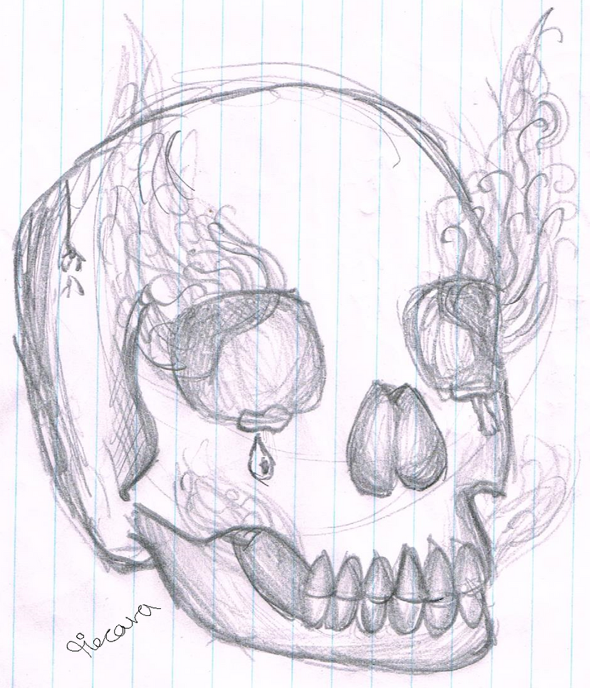 the smoke in my skull by tiecora