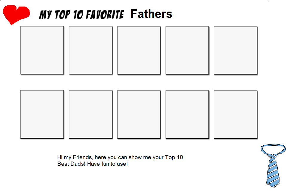 Finally back and free to use: The Top Fathers Meme by Kiro-Kurusu