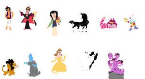Finally here: The Disney Character Winners!!!