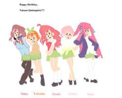 Happy Birthday, Nakano Sisters!!!