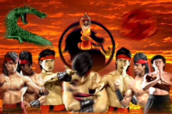 Mortal Kombat Liu Kang By FallingCyrax
