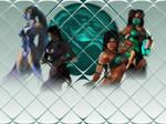 MK Kitana and Jade Tile Re