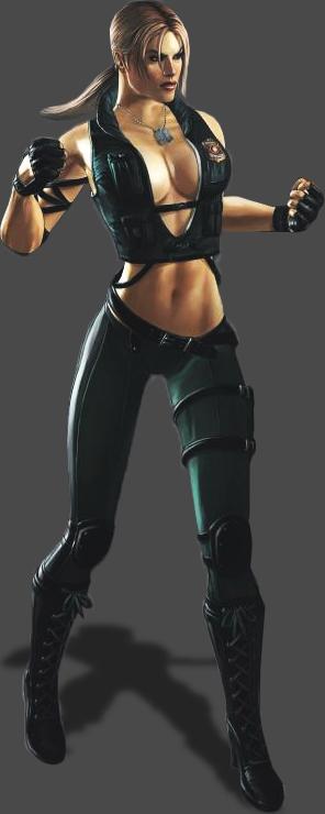 Mortal Kombat 2011 Sonya by FallingCyrax