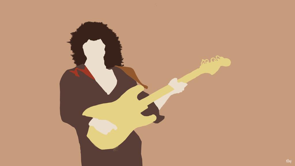 Minimalist Ritchie Blackmore by t0xxy